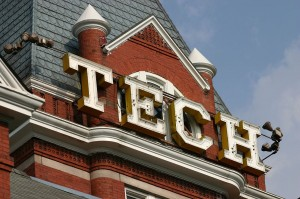 Tech Tower Sign