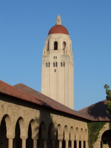 Hoover Tower from Main Quad