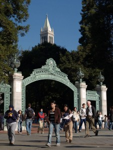 UC Berkeley Campanile Sather Gate