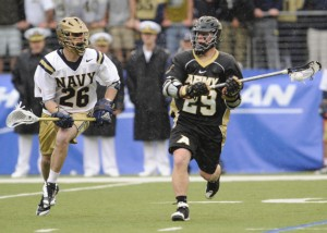 Army playing Navy at Lacrosse