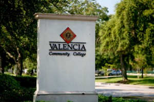 Sign at Valencia Entrance